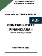 Traian Nicolae Contabilitate Financiara 1 Curs ID