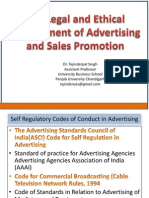 legal environment of advertising