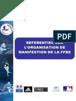 Referentiel Organisation Manifestation