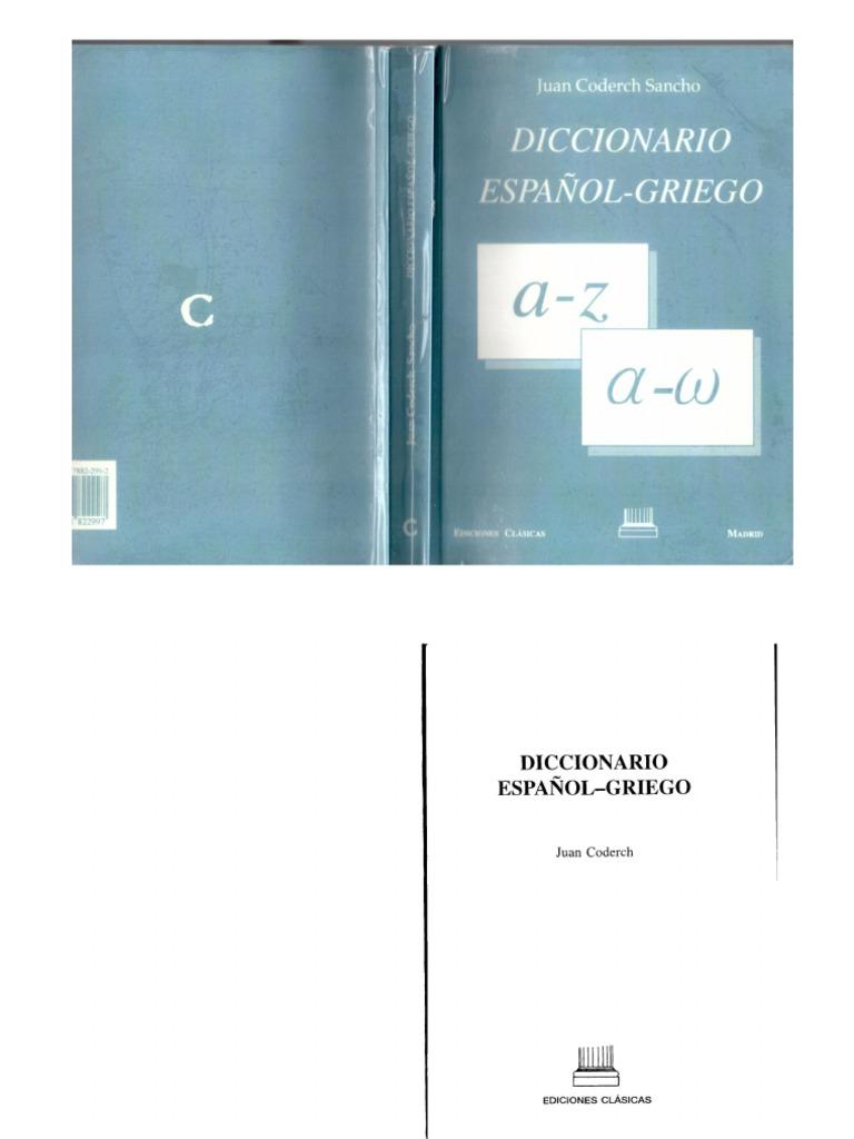 Diccionario Espa U00f1ol