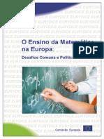 O Ensino da Matemática na Europa