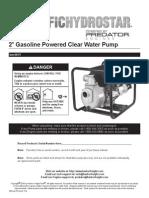 2in Water Pump Manual