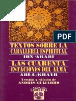 Ibn Arabi - Caballeria Espiritual