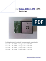 Connecting Skylab SKM53 GPS module with Arduino and Demo code.pdf