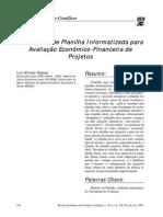 Modelo_Avaliação Econômico-financeira Projetos