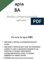 Terapia ABA
