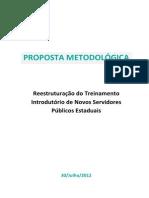 Proposta Metodologica Treinamento Introdutorio