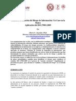 Evaluacion Riesgo Iso27001
