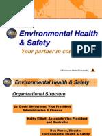 Environmental Health & Safety PRESENTATION