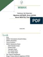 Wimax Kablosuz Ag Teknolojisi