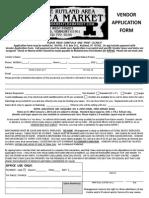 vendor application form 2014