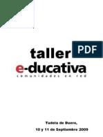 Guion Taller Educativa Tudela