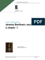 Jeremy Bentham Sociofobia y Utopia