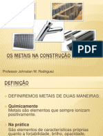 53639300 Os Metais Na Construcao Civil