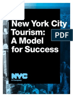 New York City Tourism a Model for Success NYC and Company 2013