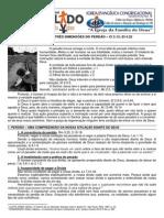 LIÇÃO 02 - DISCIPULADO - AS TRÊS DIMENSÕES DO PERDÃO