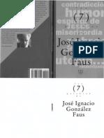 Palabras de Jose Ignacio Gonzalez Faus