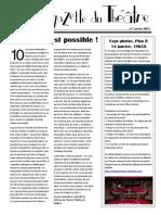 La Gazette du théâtre, n°1