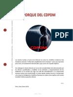 El Porque Del Cdpdm - PDF