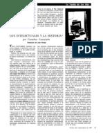 Castoriadis Los Intelectuales y La Historia