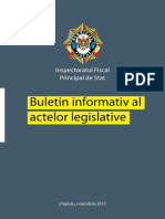 Buletin Informativ Al Actelor Legislative 11.2013
