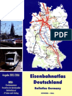 Eisenbahn Atlas Deutschland Railways Germany