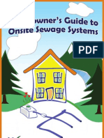 Homeowners Guide to Onsite Sewage Systems