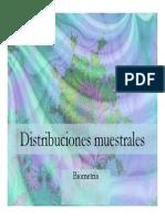distribuciones muestrales