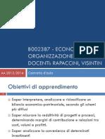 economia e organizzazione aziendale - modulo 0