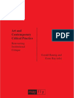 Art Contemporary Critical Practice