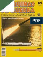 Maquinas de Guerra 064 - Misiles Superficie-Aire Navales