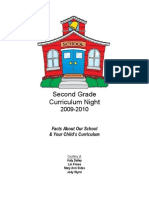 Curriculum Night Packet