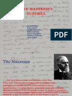 Titu Maiorescu, Junimea