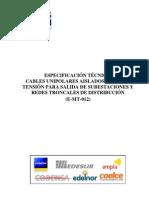 ET-Cables Unipolares Enersis