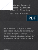 (5) Análisis de regresión