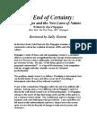 The End of Certainty Prigogine