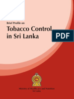 Tobacco Control in Sri Lanka
