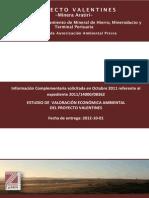 Valoracion Economica Ambiental_Proyecto Aratiri