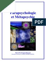Para Psychologie Et Met a Psych i e