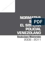 Resoluciones Ministeriales 2009-2011