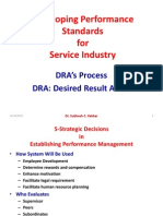 Developing Performance Standards-DRA