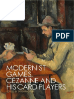Cezanne Card Players Single Spread