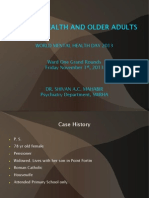 Psychiatry and Aging - a Powerpoint presentation