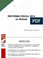 Reforma Fiscal en Bizkaia