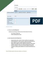 Info Transaccion Sap