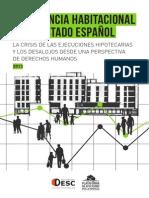 Informe DESC-PAH Barcelona 2013 - La Crisis de Las Ejecuciones Hipotecarias y Los Desalojos Desde Una Perspectiva de DDHH