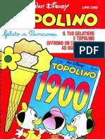 Topolino 1900 - 26 Aprile 1992
