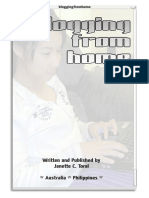 Blogging From Home by Janette Toral