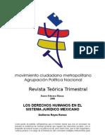 Los Derechos Humanos en el Sistema Jurídico Mexicano