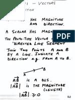 Part1 Vectors 1 Page Version